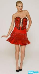 Twizzler Dress from Project Runway